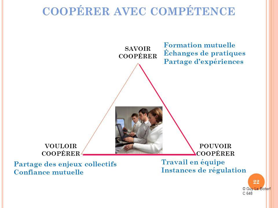 COOPÉRER AVEC COMPÉTENCE