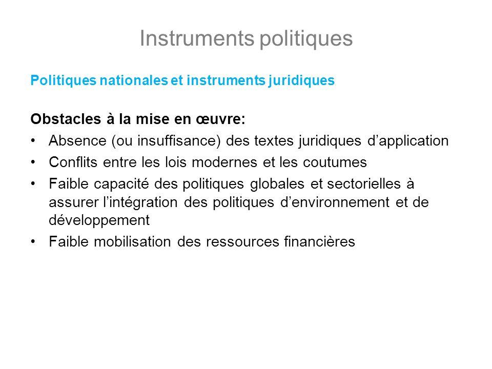 Instruments politiques