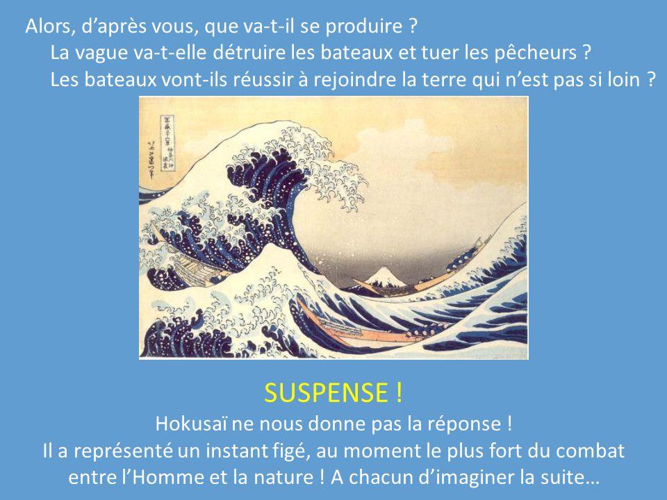 Hokusaï ne nous donne pas la réponse !