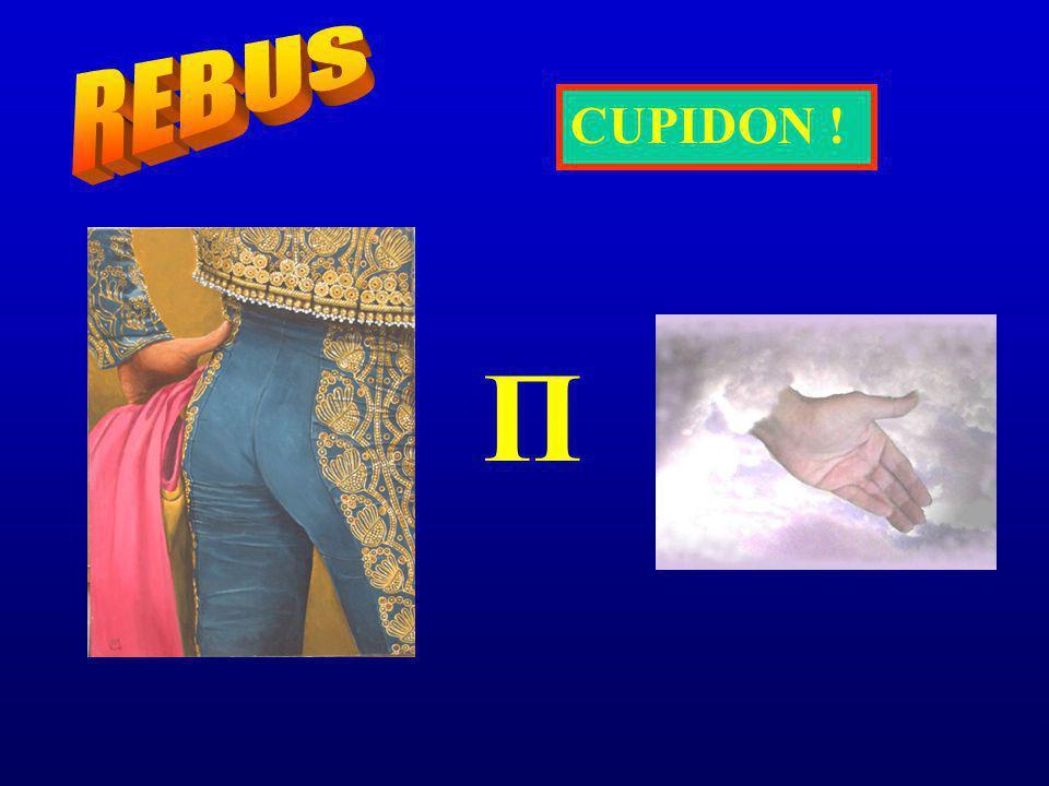REBUS CUPIDON ! Π