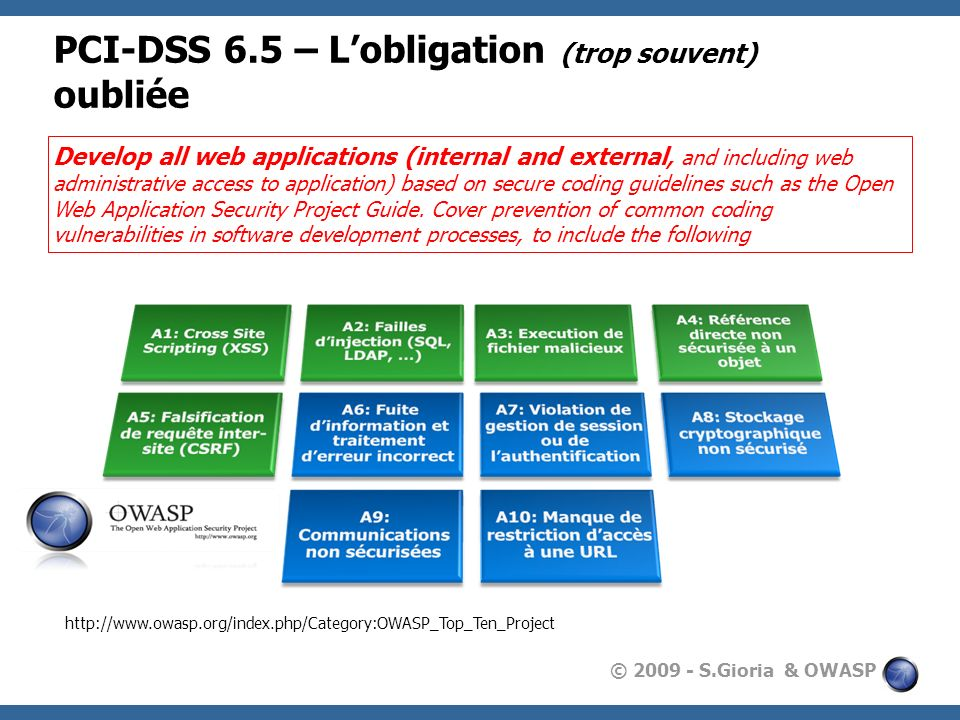 PCI-DSS 6.5 – L'obligation (trop souvent) oubliée
