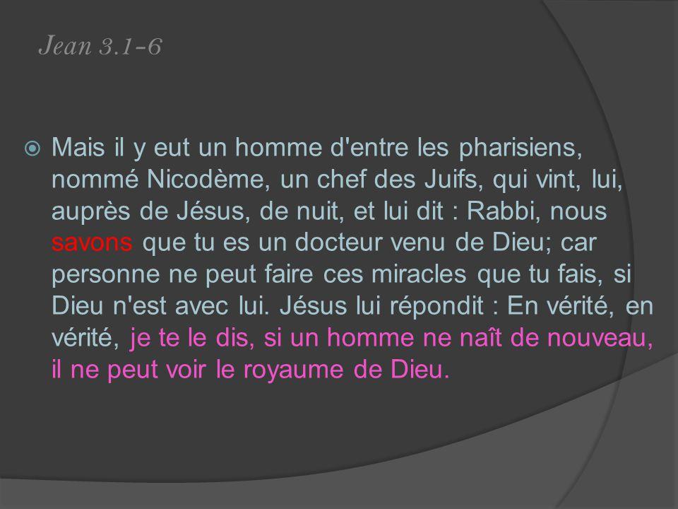 Jean 3.1-6