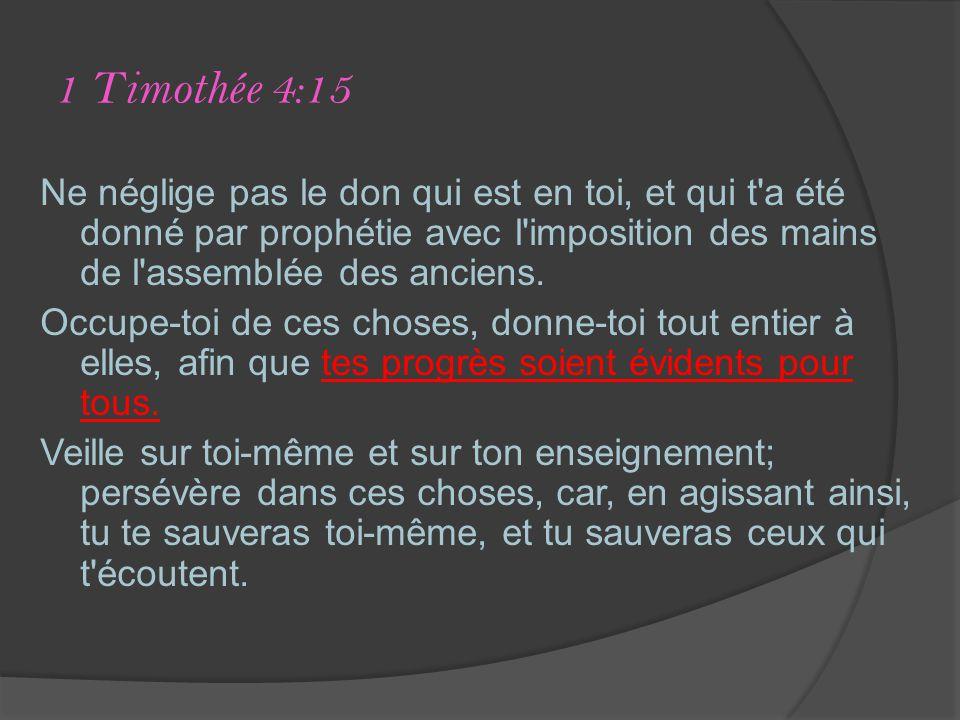 1 Timothée 4:15