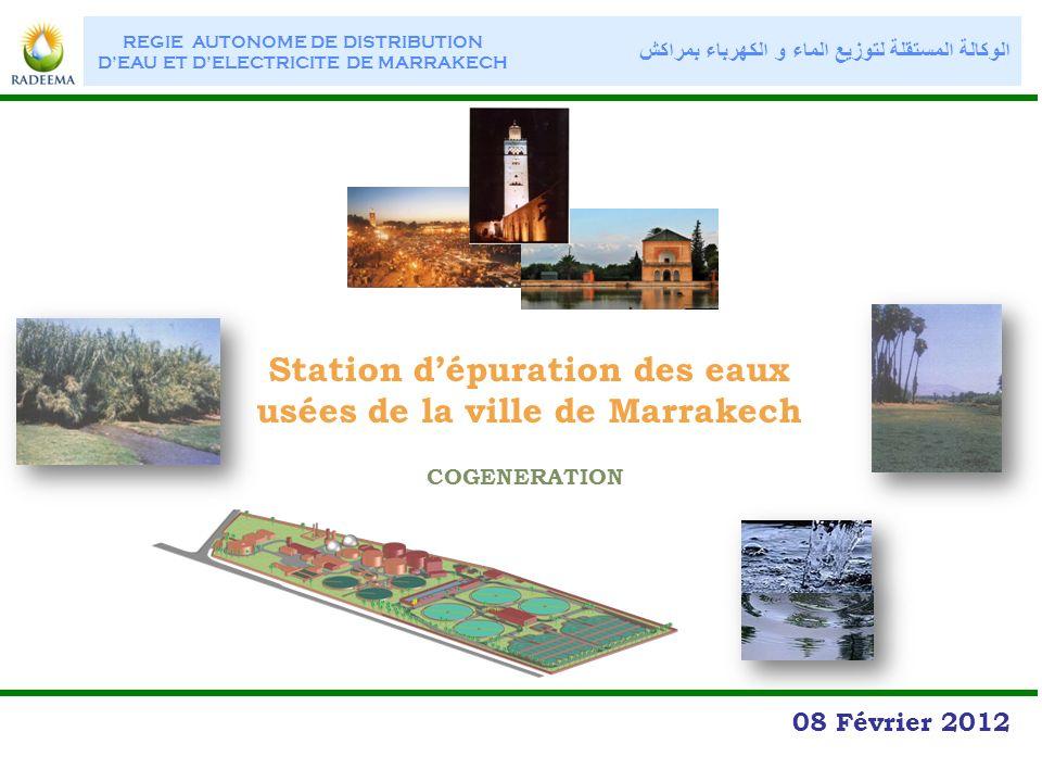 station d puration des eaux us es de la ville de marrakech ppt video online t l charger. Black Bedroom Furniture Sets. Home Design Ideas