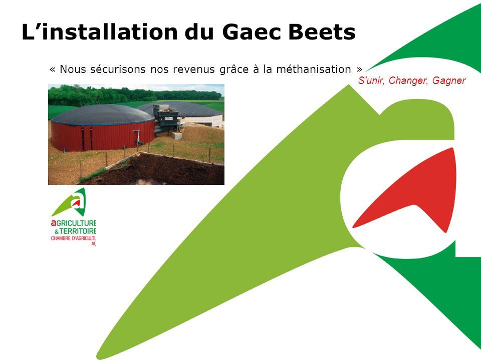 L'installation du Gaec Beets