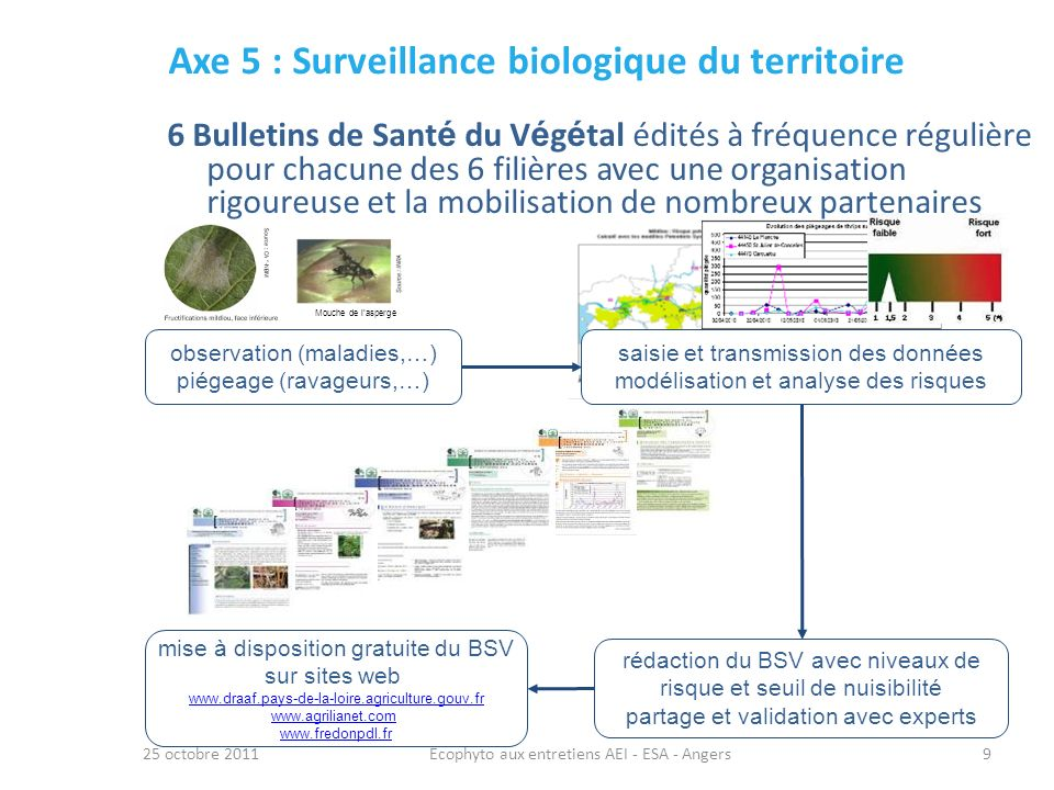 Axe 5 : Surveillance biologique du territoire