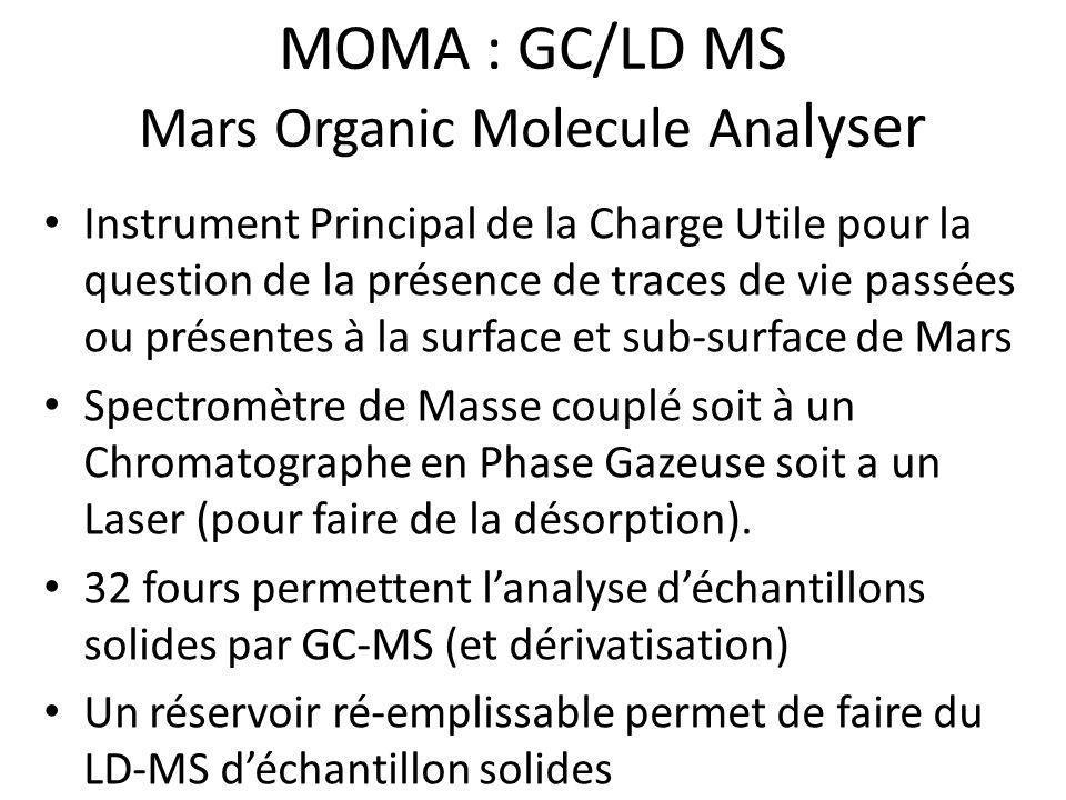 Mars Organic Molecule Analyser