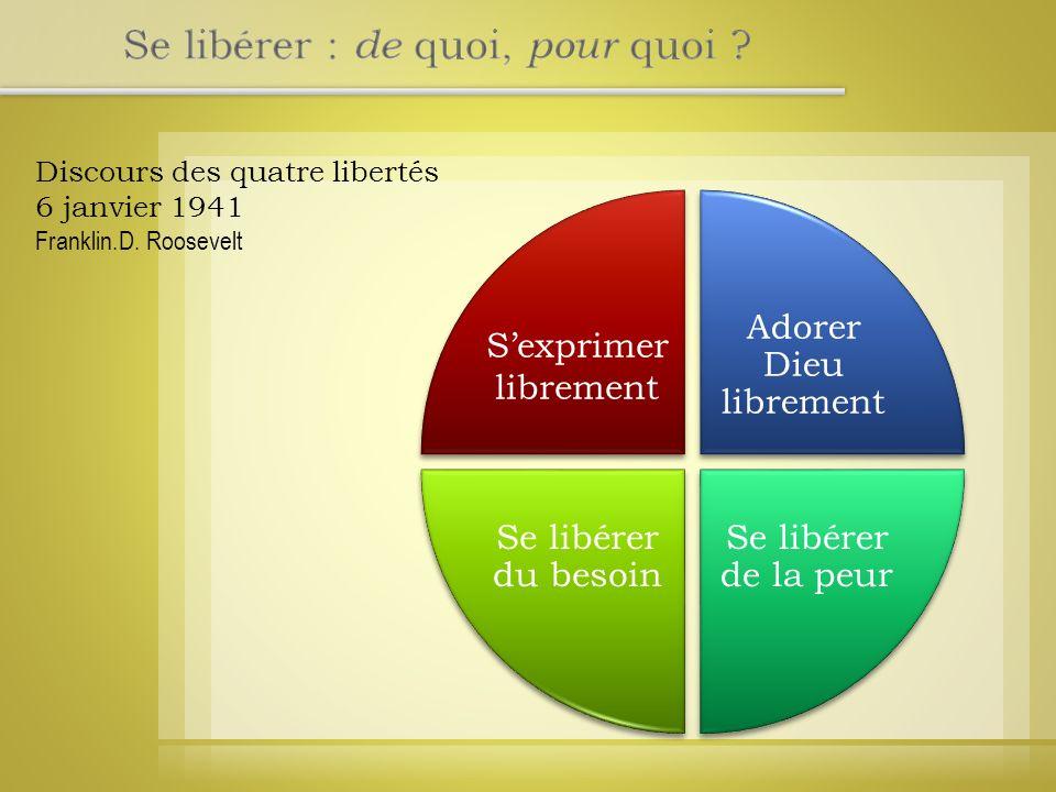 Discours des quatre libertés 6 janvier 1941