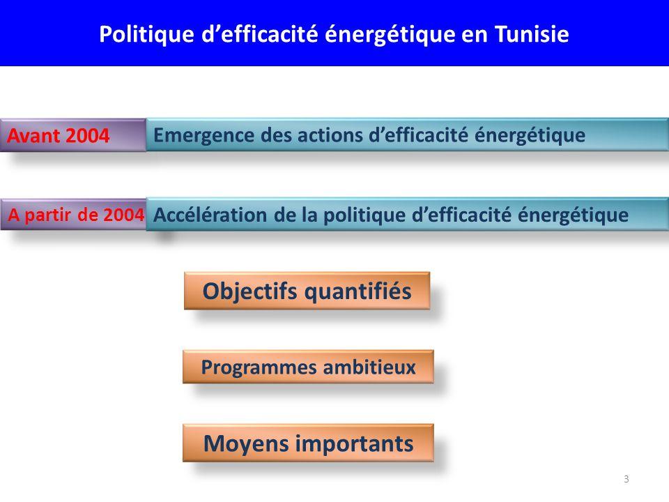 Politique d'efficacité énergétique en Tunisie