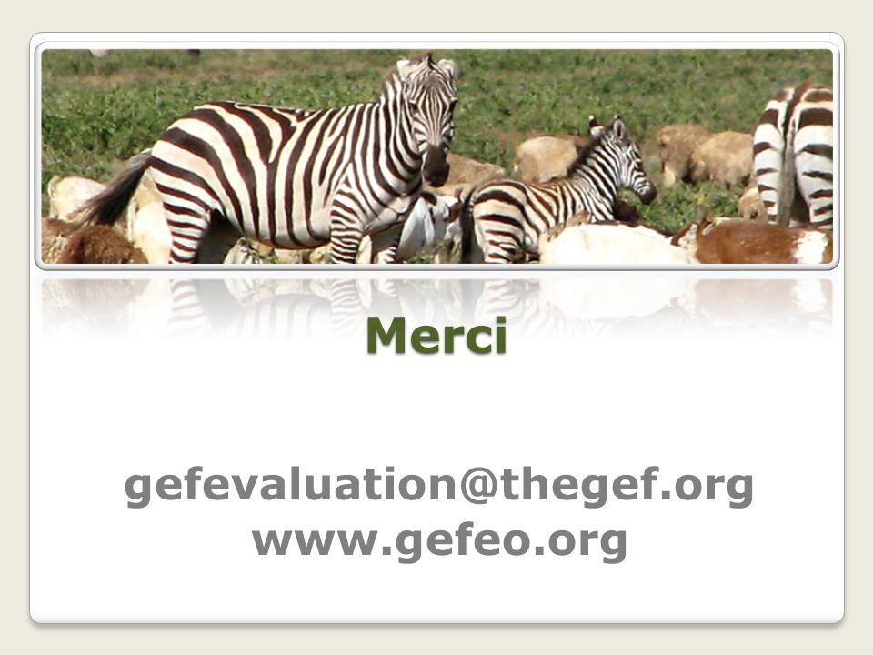 gefevaluation@thegef.org www.gefeo.org