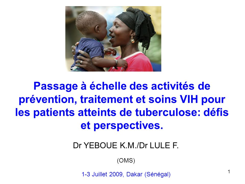 1-3 Juillet 2009, Dakar (Sénégal)