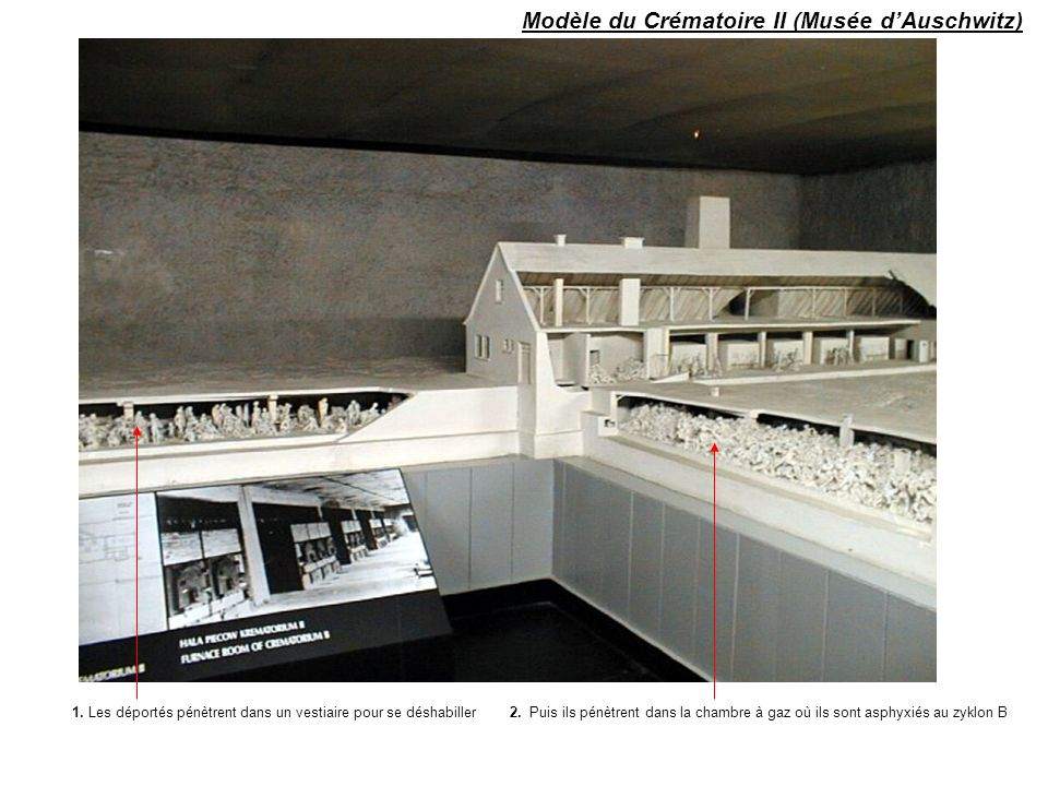 Modèle du Crématoire II (Musée d'Auschwitz)