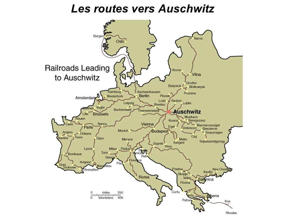 Les routes vers Auschwitz