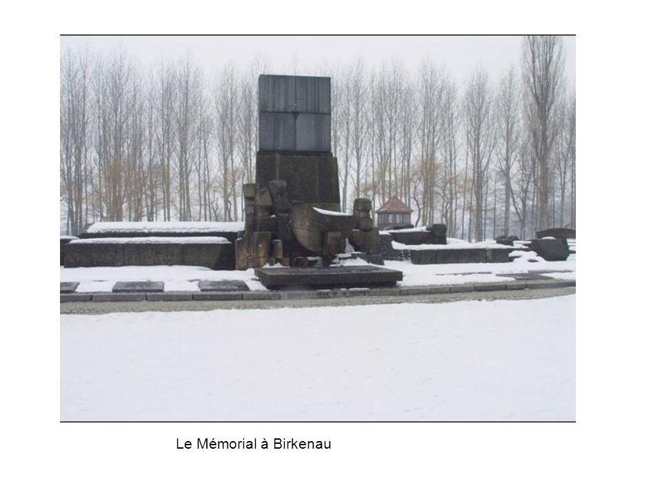 Le Mémorial à Birkenau