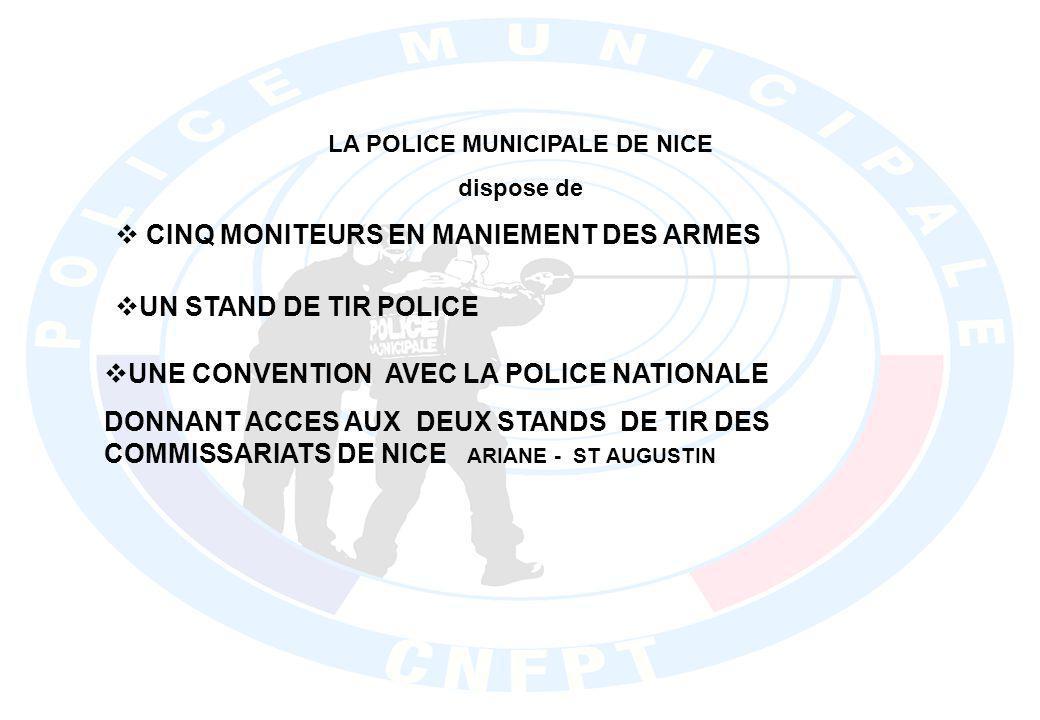 LA POLICE MUNICIPALE DE NICE