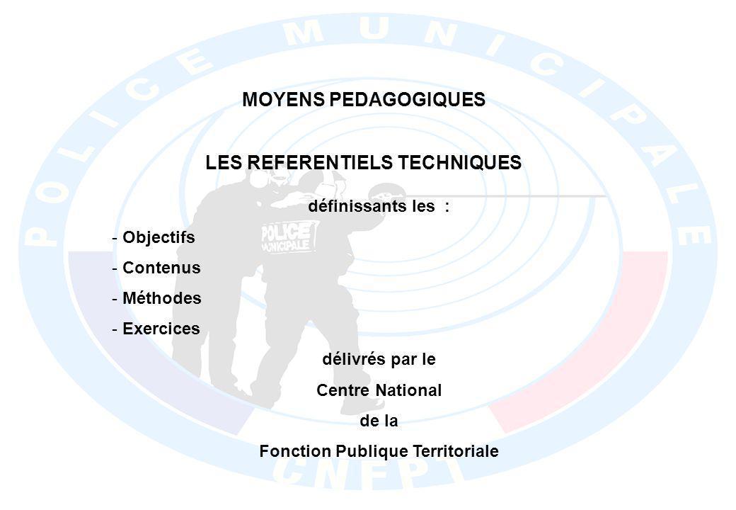 LES REFERENTIELS TECHNIQUES Fonction Publique Territoriale