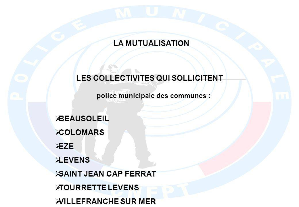 LES COLLECTIVITES QUI SOLLICITENT