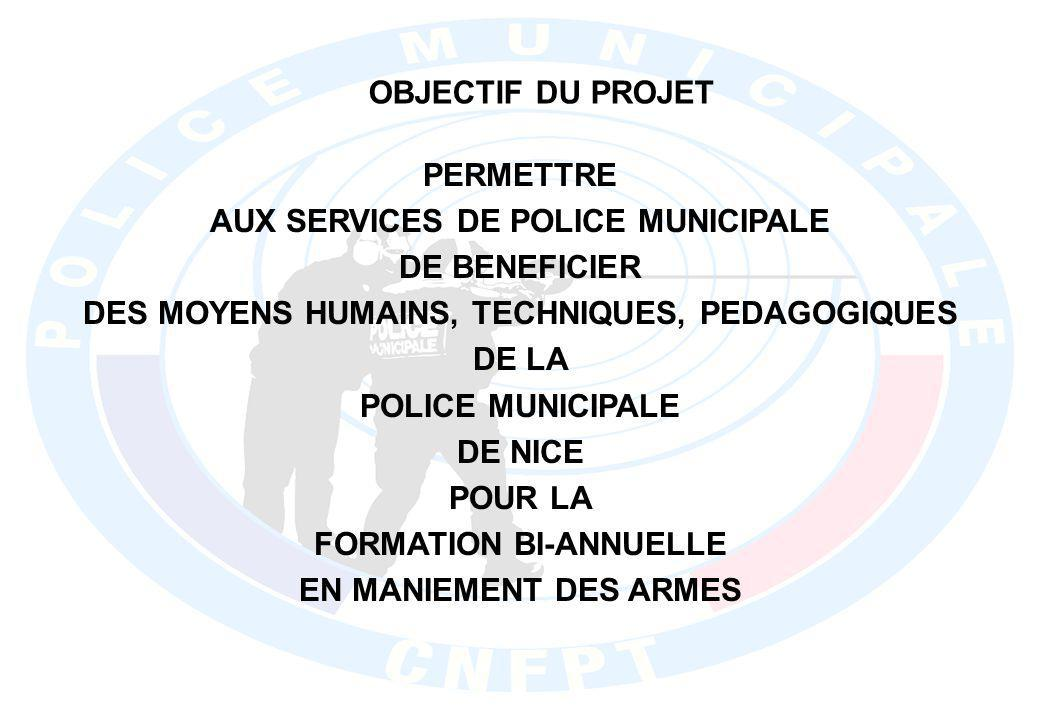 AUX SERVICES DE POLICE MUNICIPALE DE BENEFICIER