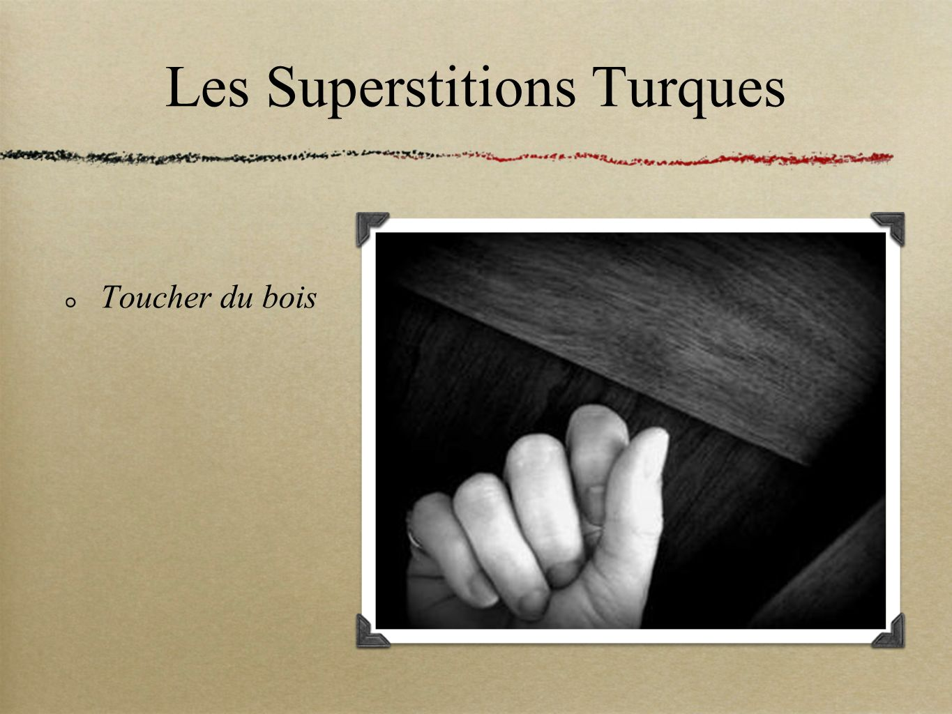 Les Superstitions Turques
