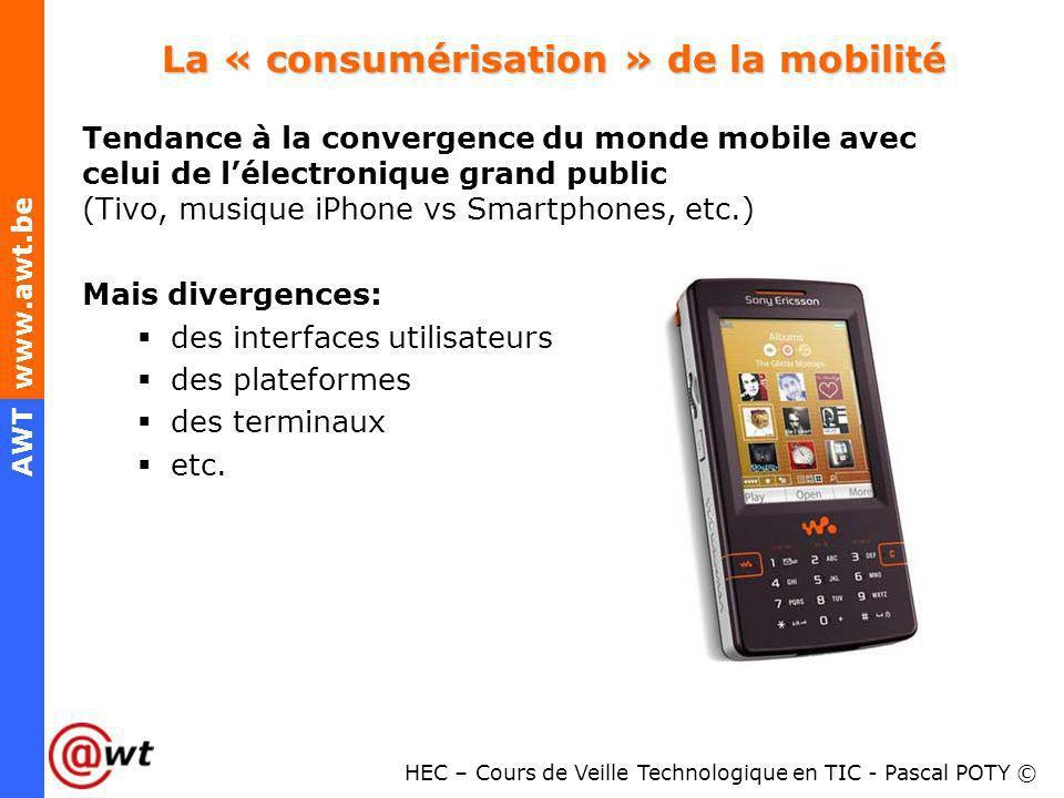 La « consumérisation » de la mobilité