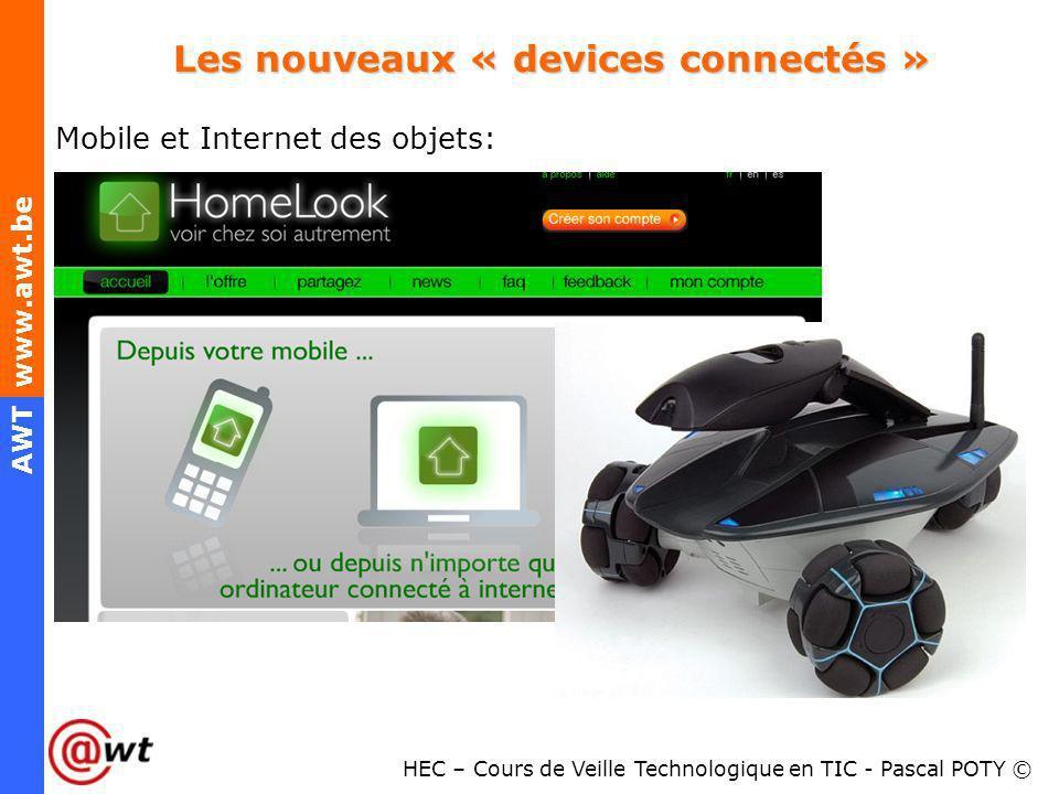Les nouveaux « devices connectés »