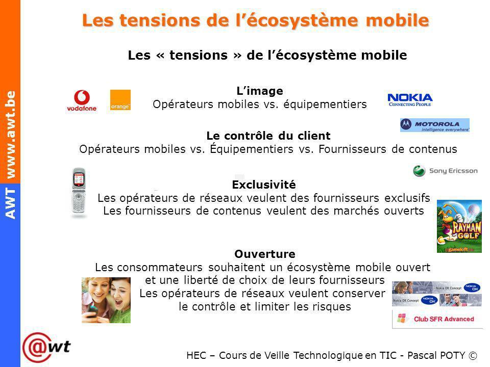 Les tensions de l'écosystème mobile