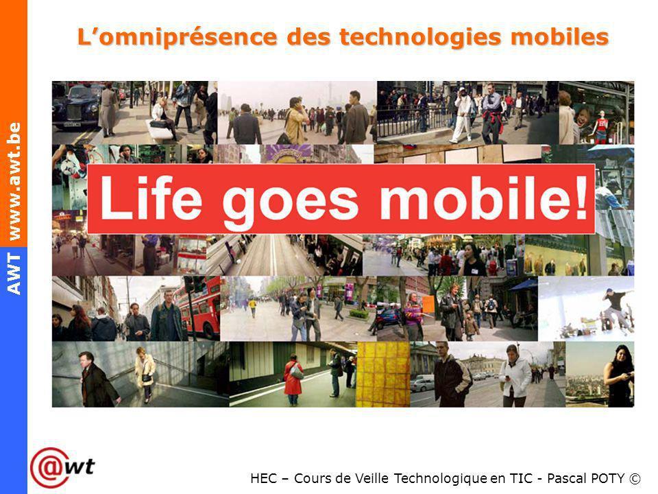 L'omniprésence des technologies mobiles
