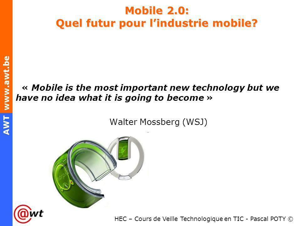 Mobile 2.0: Quel futur pour l'industrie mobile