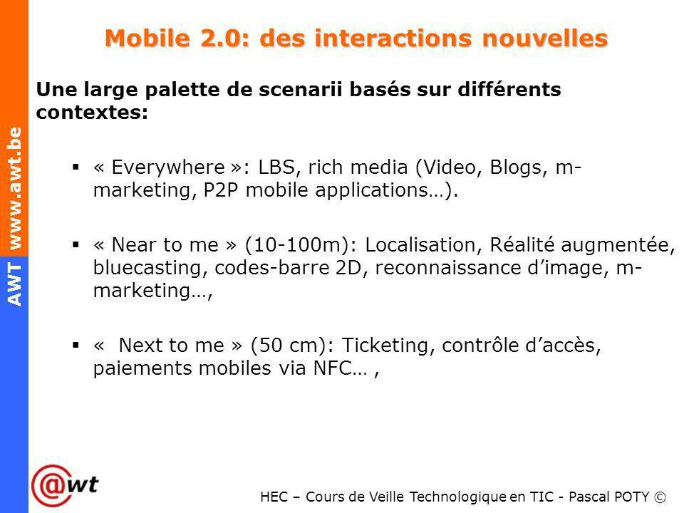 Mobile 2.0: des interactions nouvelles