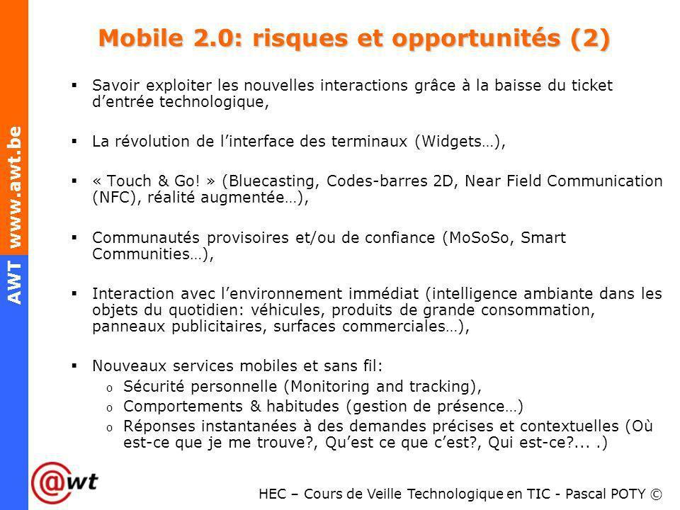 Mobile 2.0: risques et opportunités (2)