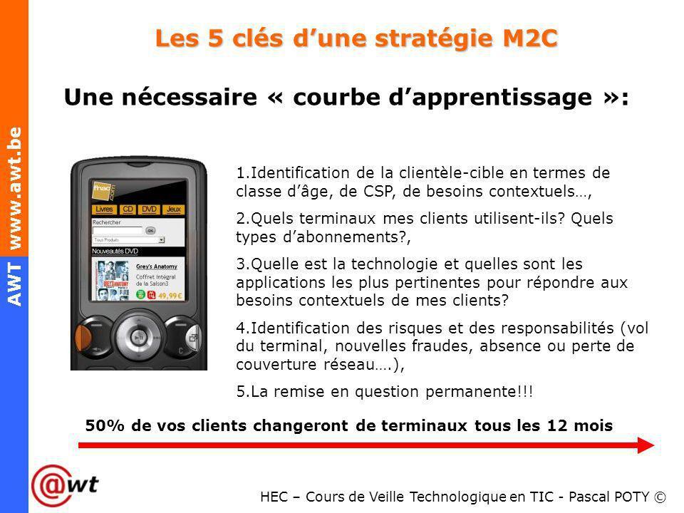 Les 5 clés d'une stratégie M2C