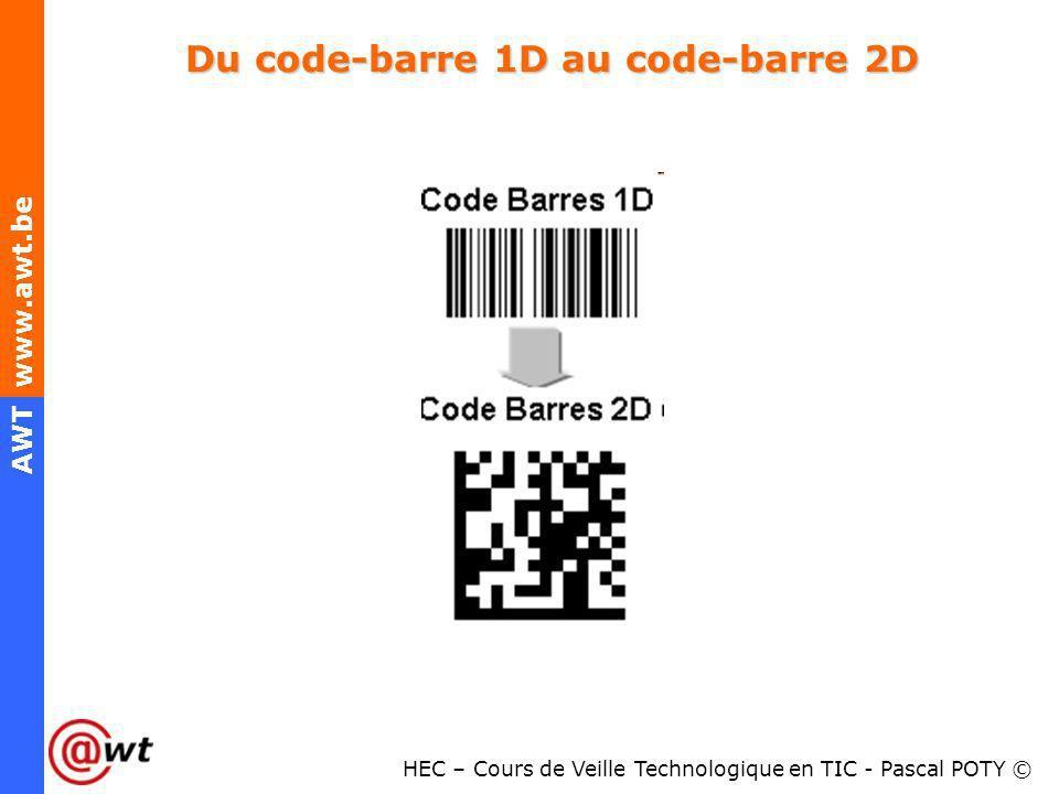 Du code-barre 1D au code-barre 2D