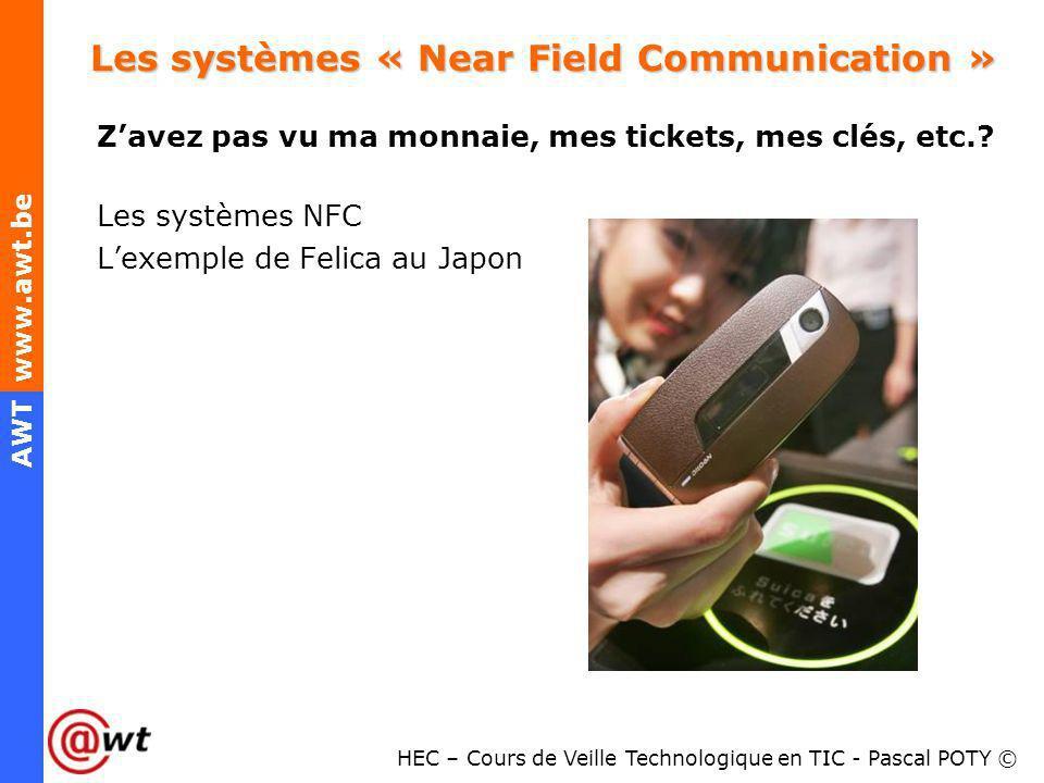 Les systèmes « Near Field Communication »