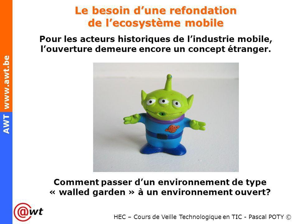 Le besoin d'une refondation de l'ecosystème mobile