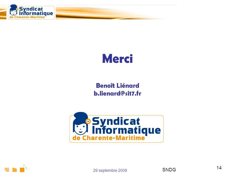 Merci Benoît Liénard b.lienard@si17.fr
