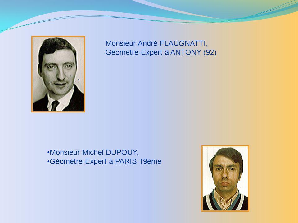 Monsieur André FLAUGNATTI,