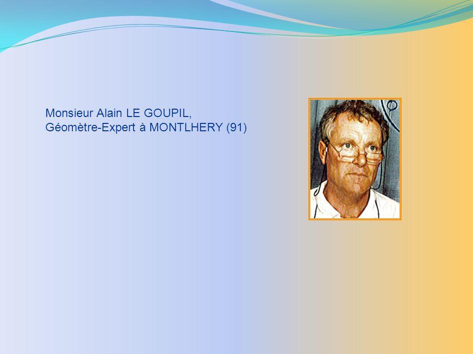 Monsieur Alain LE GOUPIL,