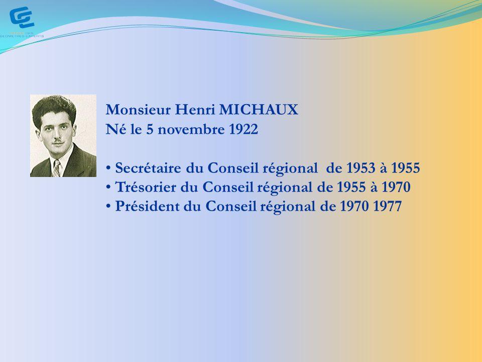 Monsieur Henri MICHAUX