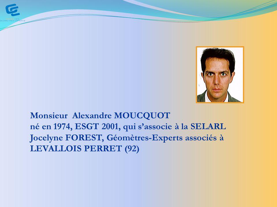 Monsieur Alexandre MOUCQUOT