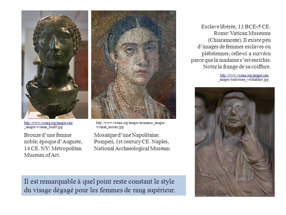 Esclave libérée, 13 BCE-5 CE. Rome: Vatican Museums (Chiaramonte)