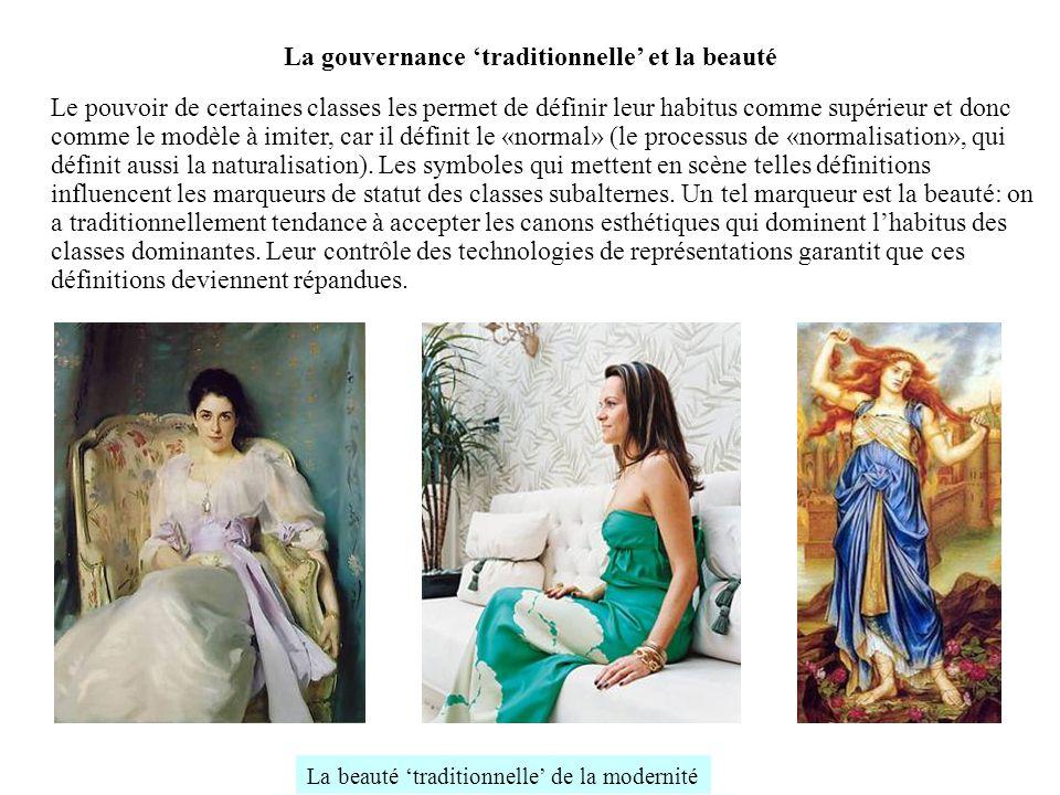 La gouvernance 'traditionnelle' et la beauté