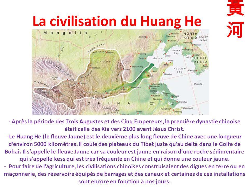 La civilisation du Huang He