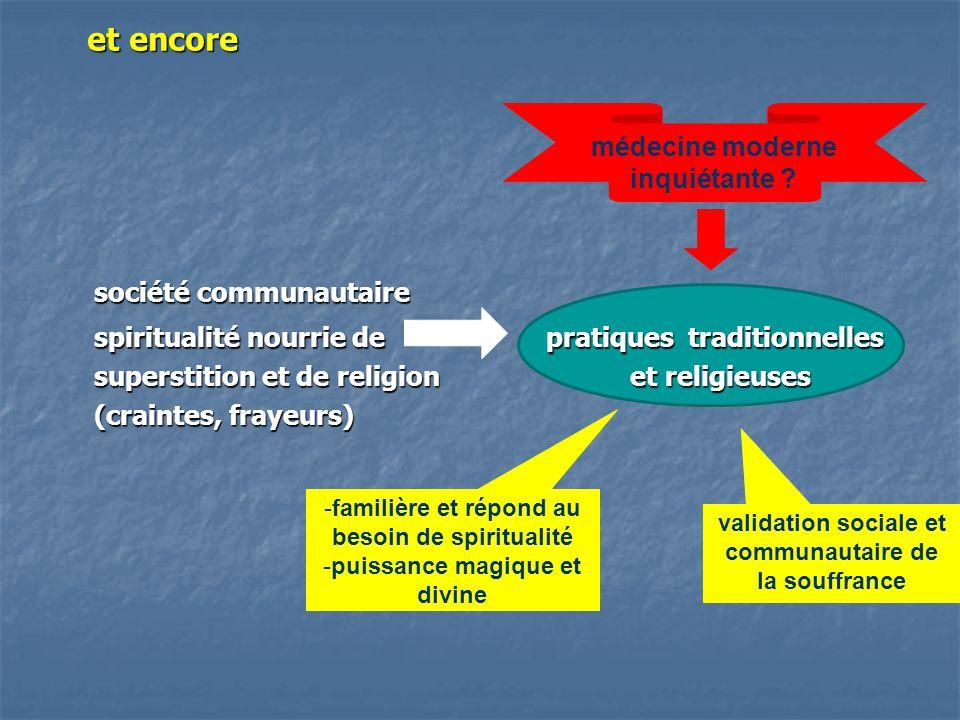 spiritualité nourrie de pratiques traditionnelles