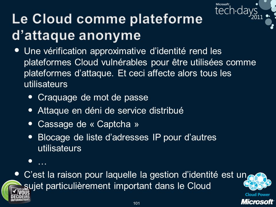 Le Cloud comme plateforme d'attaque anonyme