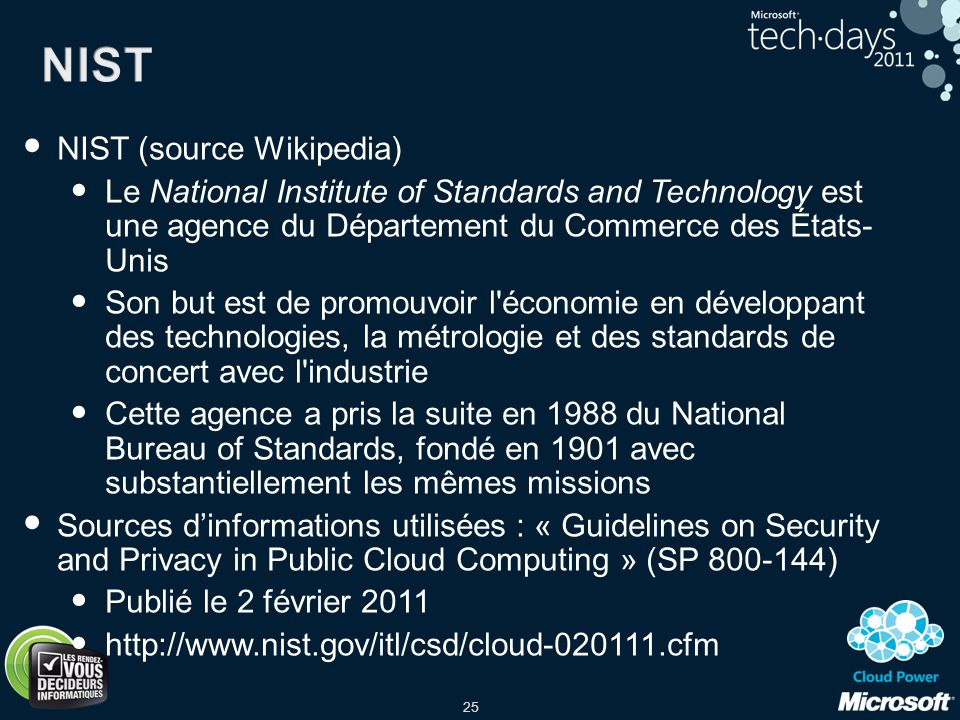 NIST NIST (source Wikipedia)