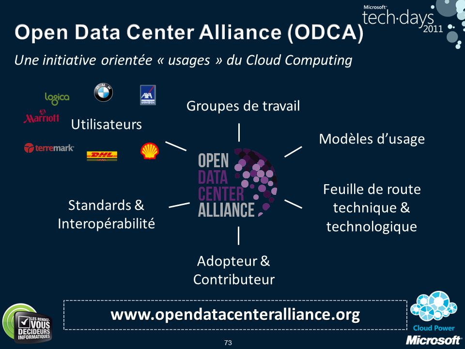 Open Data Center Alliance (ODCA)
