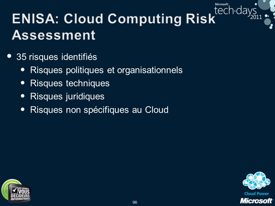 ENISA: Cloud Computing Risk Assessment