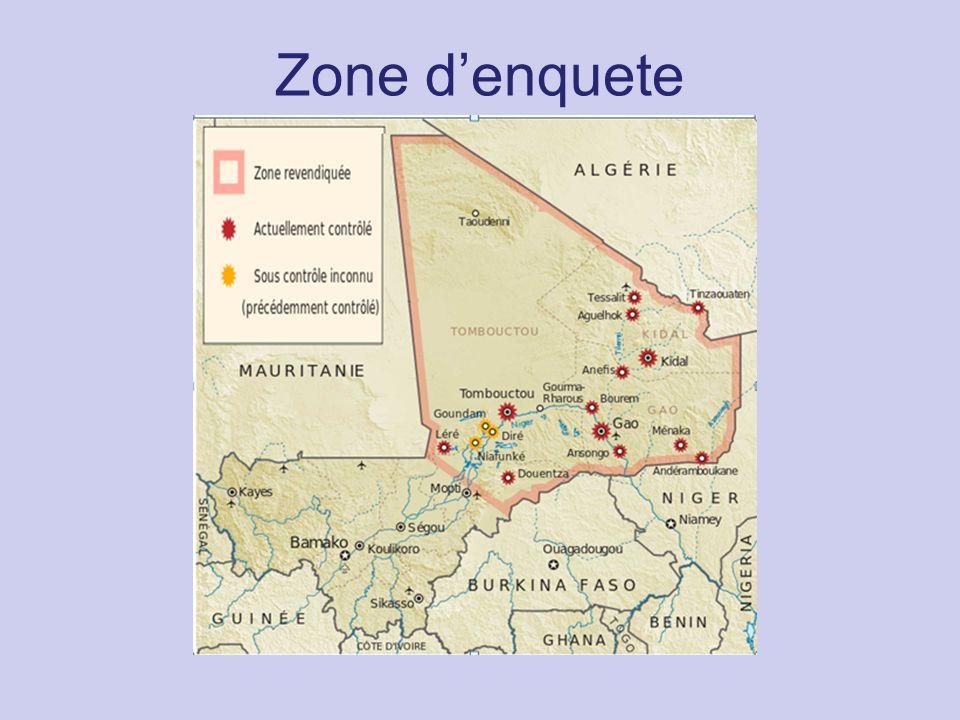 Zone d'enquete