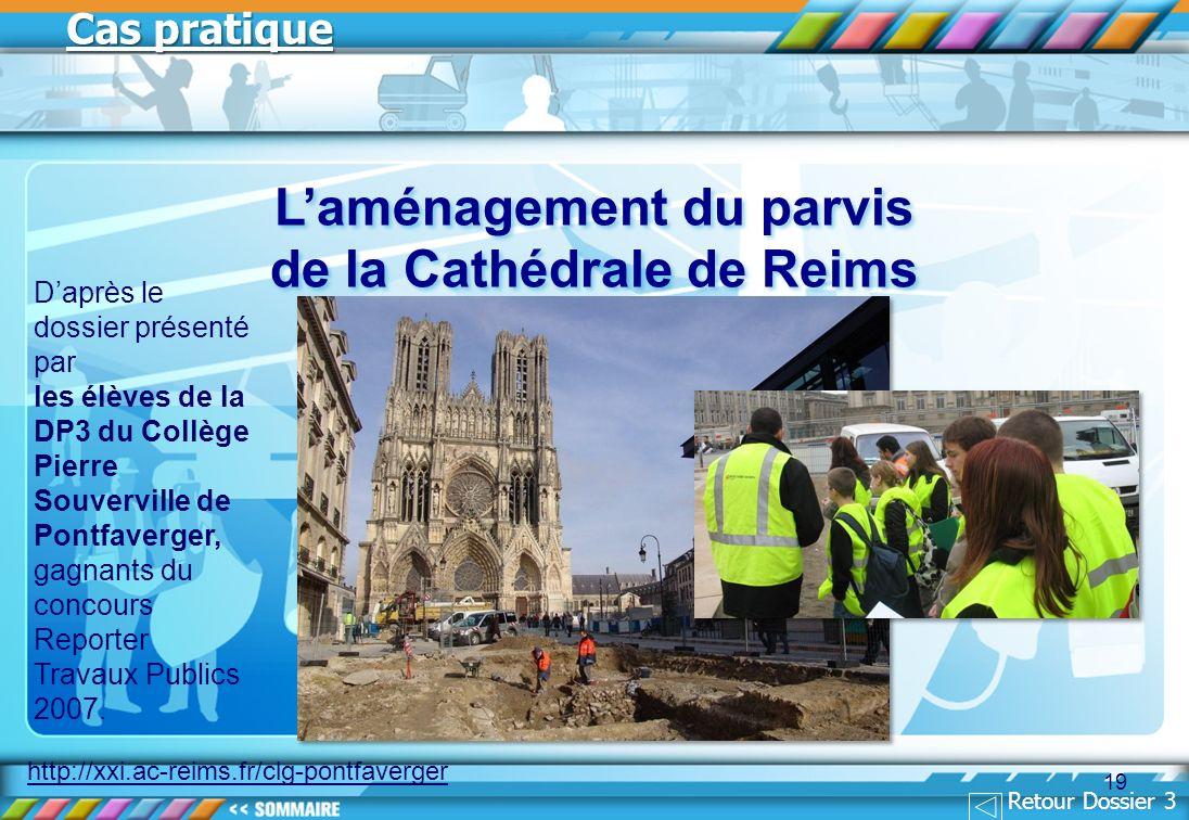 L'aménagement du parvis de la Cathédrale de Reims