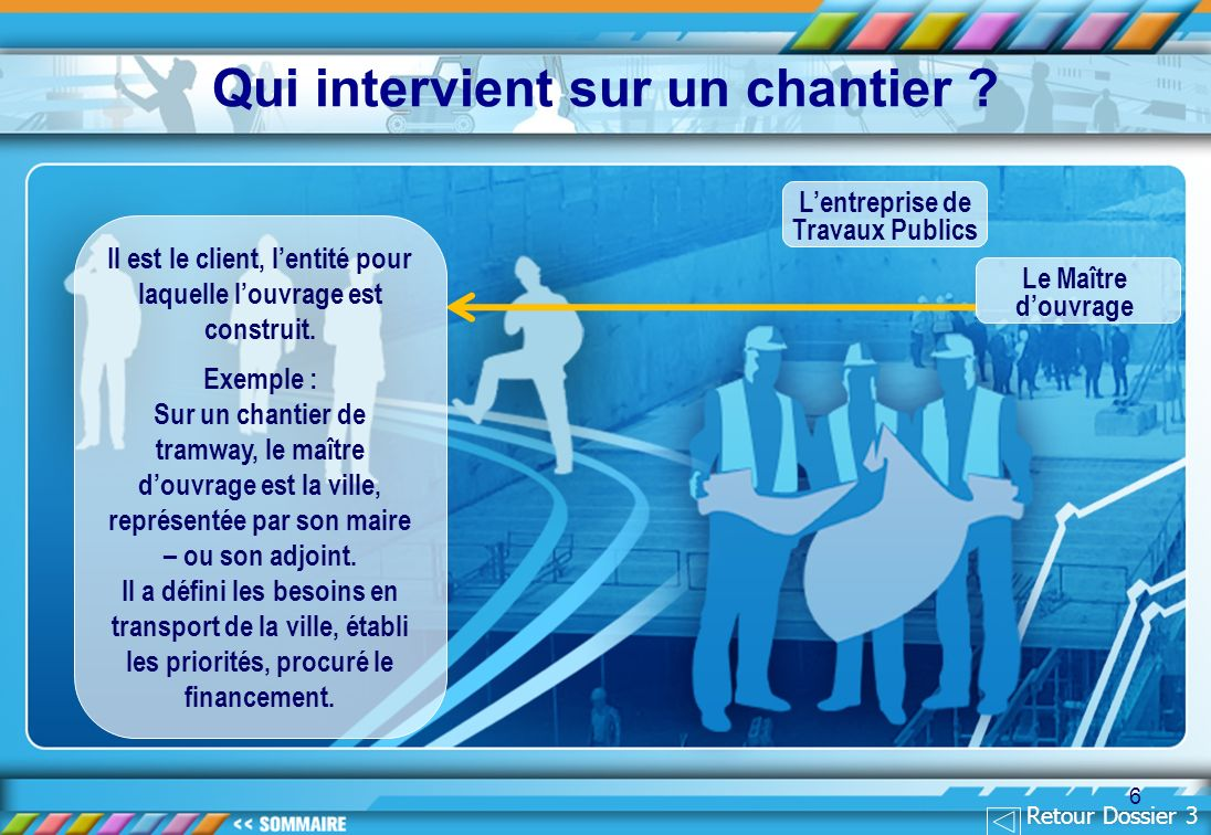Qui intervient sur un chantier